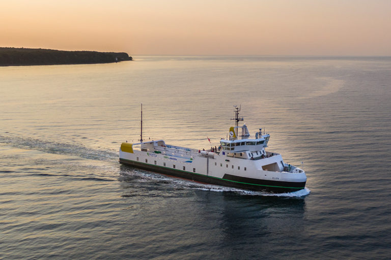 Fully electric E-ferry Ellen fulfills important goal: sails 5 daily return trips