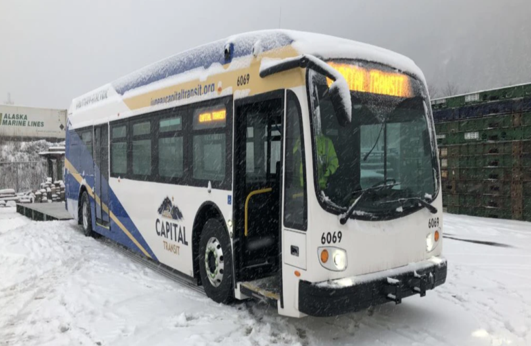 Capital Transit takes delivery of Alaska's first battery electric bus for transit use