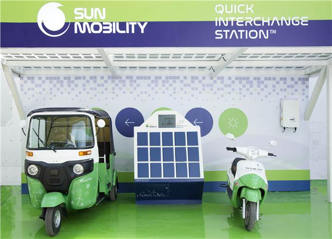 SUN Mobility plans 100 battery swapping stations in Bengaluru by 2021