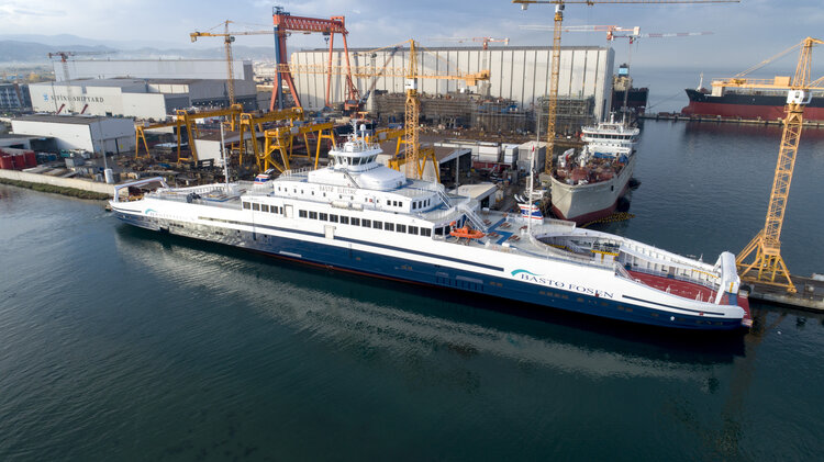 Bastø Electric: the world's largest electric ferry delivered