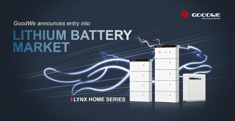GoodWe, new additions to its Lynx Home battery series