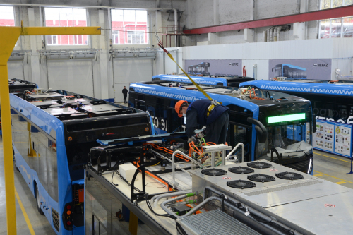 KAMAZ opens center in Moscow to make electric buses powered by 80 kWh LTO battery packs