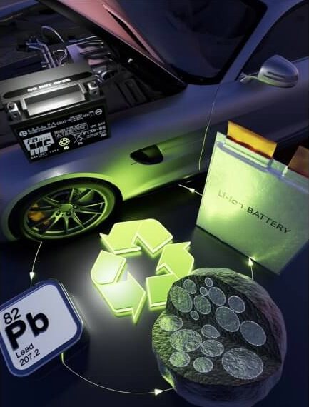 Combining strengths: lead anodes for lithium-ion batteries