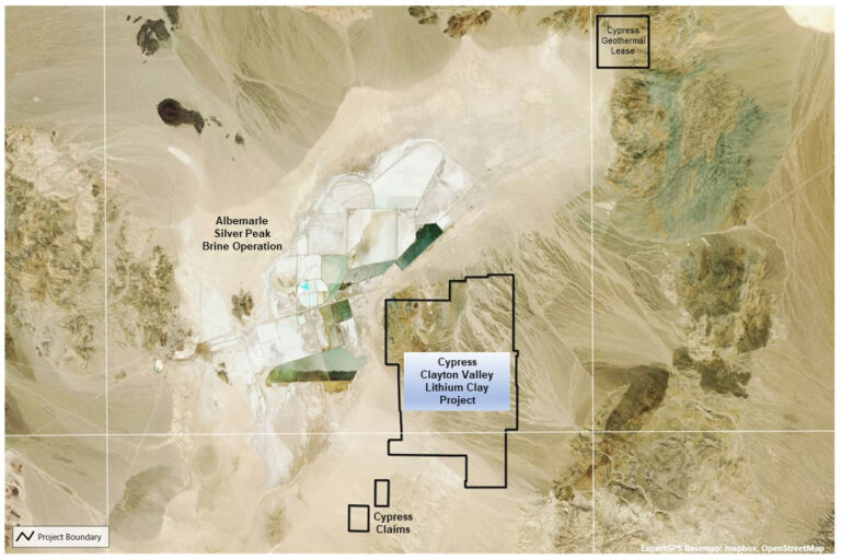 Cypress Development enters LOI for the purchase of water rights in Clayton Valley, Nevada