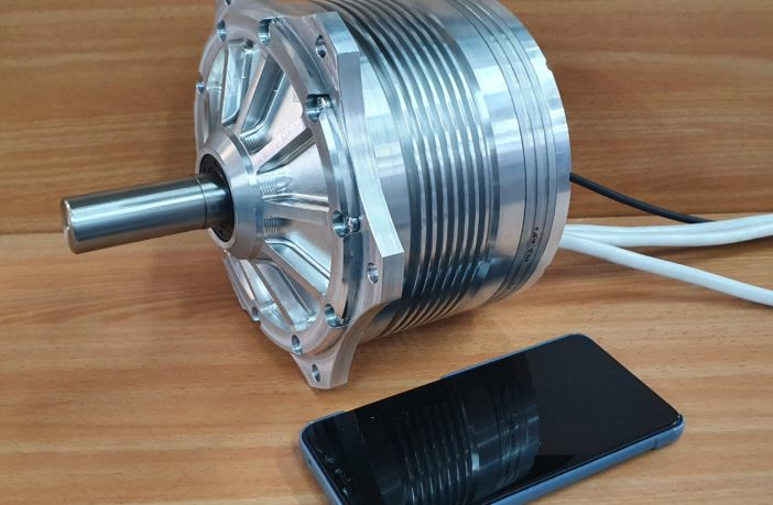EVR Motors presents high-performance electric motor half the size and lighter than typical electric motor designs