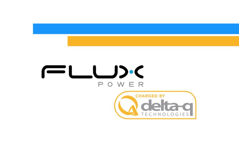 Flux Power joins Delta-Q Technologies' battery compatibility program