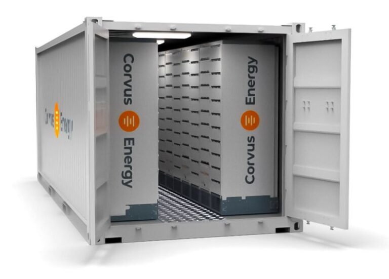 SH Group partners with Corvus Energy on containerized battery room solution
