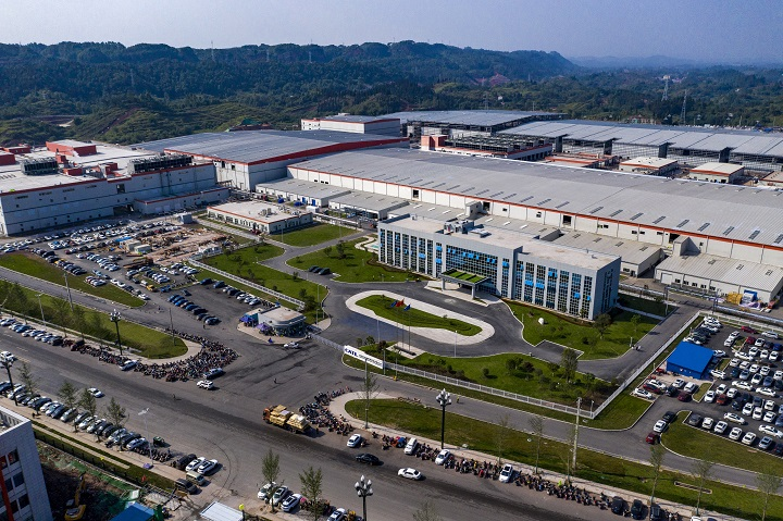 CATL-SC officially launches operation of first phase of traction battery production project