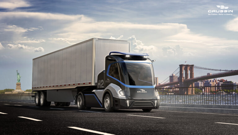 Gaussin partners with Microvast to integrate the new generation of batteries dedicated to full-electric and hydrogen new road truck skateboard