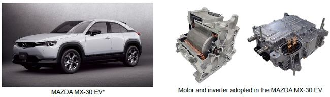 Hitachi Astemo EV motor and inverter adopted in Mazda's first mass-produced electric vehicle