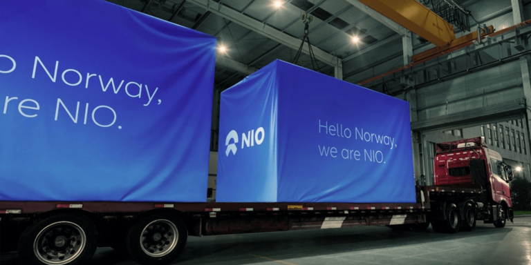 Nio receives TÜV certification for battery swapping stations